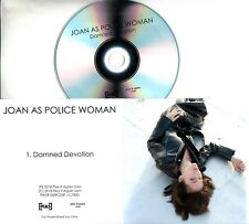 JOAN AS POLICE WOMAN Damned Devotion 2018 UK 1-trk promo test CD