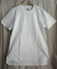 SILENT by DAMIR DOMA WHITE SHIRT WITH HUGE POCKET ONE THE BACK SIZE S