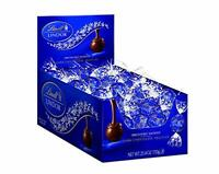 Lindt Lindor Dark Chocolate Kosher Chocolate Truffles 60 Count in Tundras Displa