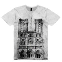 NEW MENS 2019 NOTRE DAME CATHEDRAL FAN SUB TEE  T-SHIRT UK REGULAR  FIT SIZE