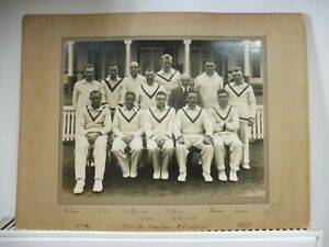 Yorkshire CCC 1934 Official Photograph by Albert Wilkes & Son Signed by all 13