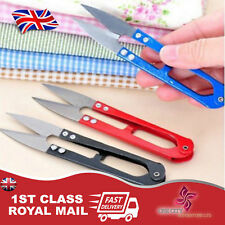 3x MINI SEWING EMBROIDERY THREAD YARN CUTTER METAL SNIPS SCISSORS DRESSMAKING
