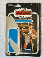 Star Wars Vintage Original Luke Skywalker X-wing Pilot CardBack Only Kenner