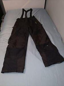 Mountain Uniform Ski Pants W/ Suspenders Black Men's Small