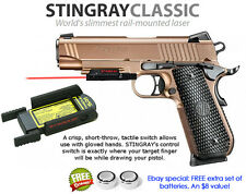 ArmaLaser Stingray RED LASER for SIG Sauer P320c, P226/229/220/227 & 1911 w/Rail