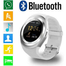 Bluetooth Smart Watch Support SIM TF Card Whatsapp Facebook Fitness Watches