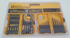 DeWALT New MaxFit Drill/Drive Set 72pcs free shipping