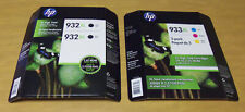 5-Pack HP Genuine 933XL & 932XL Combo Packs High Yield Ink Cartridges NEW/SEALED