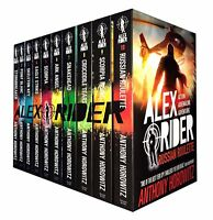 Anthony Horowitz Alex Rider Collection 10 Books Set Ark Angel,Scorpia,Snakehead