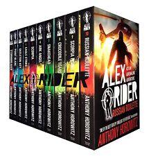 Anthony Horowitz Alex Rider Collection 10 Books Set Ark Angel,Scorpia,Snakehead