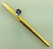 Parker 180 Imperial Fountain Pen NOS 14K F-Br Nib Mint!