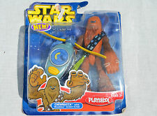 Playskool Star Wars Jedi Force Chewbacca Wookie Scout Flyer Action Figure ~NEW~