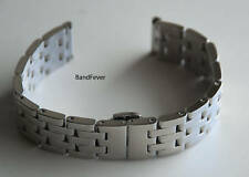 16mm Solid Silver high quality Stainless Steel Watch Band Bracelet Men or Woman