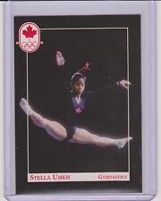 RARE 1992 CANADA SUMMER OLYMPIC STELLA UMEH GYMNASTICS ROOKIE CARD #27