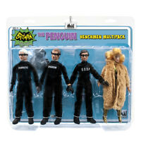 Batman Classic TV Series Action Figures: The Penguin Henchman Four-Pack