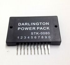 STK0080 STK-0080 DARLINGTON POWER PACK  with Heatsink 1Pc