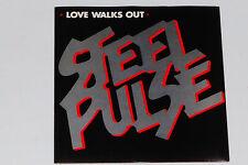 "STEEL PULSE -Love Walks Out / Kick That Habit (Cold Turkey)- 7"" 45"