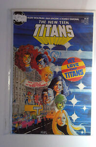 The New Teen Titans #6 DC Comics (1985) NM- 1st Print Comic Book