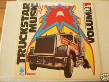LP RECORD VINYL COVER MACK TRUCK, TRUCKSTAR MUSIC VOLUME 1  SIMPSON,DUDLEY,REEVE