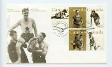 Canada FDC #1608-12 Canadian Olympic Gold Medallists Sports 1996  73-7