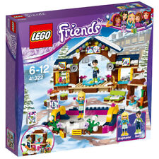 BRAND NEW BOXED LEGO FRIENDS SNOW RESORT ICE RINK SET 41322 - BIRTHDAY GIFT