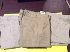 Lot 10 Boys Khaki School Uniform Pants Size 16 Wonder Nation/Izod/Dickies