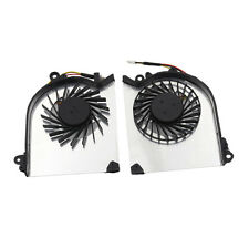 Right & Left CPU Fan Laptop CPU Cooling Fans For MSI GS60 Series 3 pins