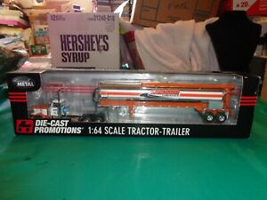 Ertl Die Cast Promotions Lancor Logistics Peterbilt 389 W/Feed Trailer 1:64