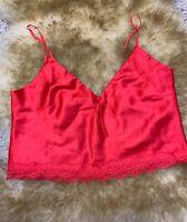 Fashion Nova red Camisole Top sleepwear nightwear size XL