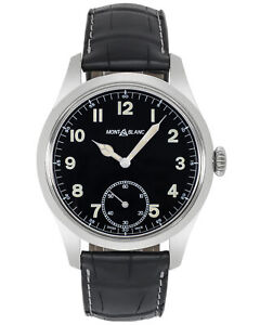 MONTBLANC 1858 MANUAL WIND MEN'S WATCH 113860, MSRP: $3,700