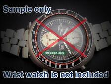 19mm FishBone Solid Stainless Steel Bracelet For 6138-0011 6138-7000 6138-0012