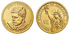 2015 P & D John F. Kennedy Presidential Dollars positions A & B - 4 coins!