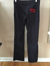 Versace Sport Womens Pants Size Small Black w Red 100% Authentic!