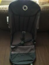 Fading black/dark brown Bugaboo Frog Seat Fabric without toddler seat harness