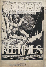 BARRY WINDSOR-SMITH - CONAN RED NAILS PRINTED AT FULL SIZE FROM ORIGINAL ART