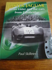 RARE LISTER JAGUAR, BRIAN LISTER AND THE CARS FROM CAMBRIDGE, MOTOR RACING BOOK