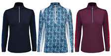 Daily Sports Ladies Golf 1/2 Zip Pullover Clearance Anna & Alicia RRP£60