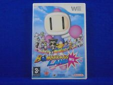 wii BOMBERMAN LAND Game Up To 4 Players! Nintendo PAL UK ENGLISH Version