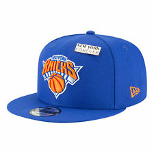 New York Knicks Era Official Draft 9FIFTY Snapback Cap Hat Headwear 2018 Mens