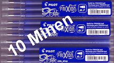 10 x PILOT Frixion Ball Tintenroller Ersatzmine blau Minen BLS-FR7 für BL-FR7