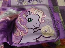 My Little Pony (BackPack_BookBag) w/ Brushable Hair (FREE SHIP.) *One Issue*  ):