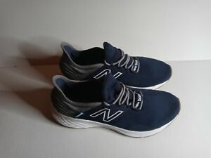 New Balance Men's Fresh Foam Roav Running Shoe,10.5 Rogue Wave Blue & White