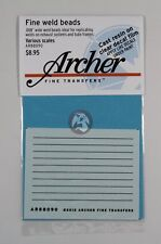 """Archer (Various Scales) .009"""" inch (.25 mm) Micro Weld Beads AR88090"""