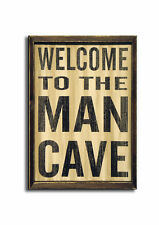 Welcome to The Man CAVE  Wooden SIGN, Good Quality Wooden Sign