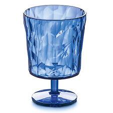 "Koziol Small Plastic ""Crystal 2.0"" Wine Goblet  - Transparent Light Blue"