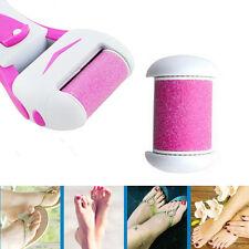 Electric Pedicure Kit File Foot Care Hard Dry Callus Skin Remover Refill Head