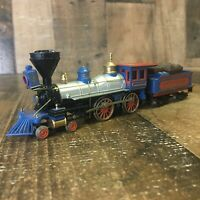 "HO Bachmann Central Pacific ""Jupiter"" 4-4-0 American Steam Locomotive #60 CPRR"