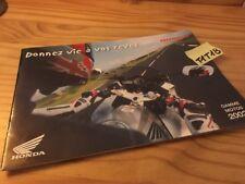 Honda gamme 2002 moto prospectus catalogue brochure prospekt catalog pub