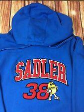 Chase Authentic Elliott Sadler Robert Yates Racing Hoodie Jacket XL Blue Nascar