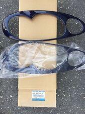 01 - 05 Mazda Miata Head light bezels Midnight blue OEM NEW NO66 V4 355F 50